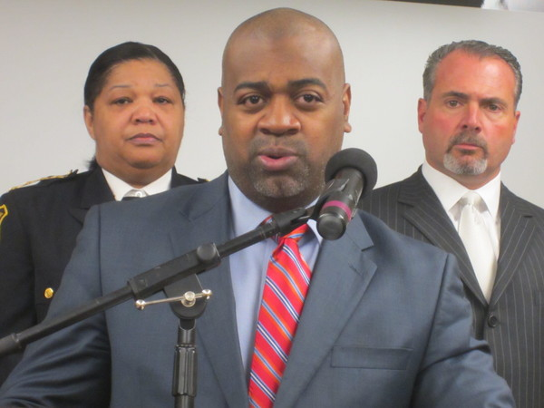 Councilman Ras Baraka's Press Conference on Bergen Street Shooting Arrest Part 1
