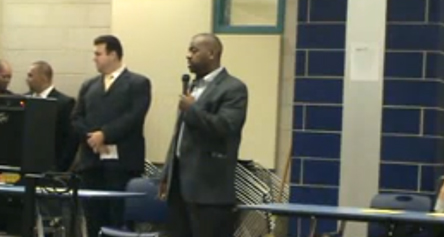 Ras Baraka speaks about student safety at Central HS