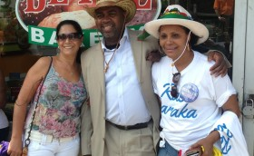 Councilman Baraka at the Portugal Day Parade in the East Ward
