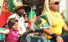 Councilman Baraka in the Portugal Day Parade in the East Ward