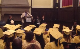 Ras Baraka at Star Academy Graduation