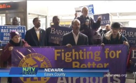 Baraka Joins Union Members at Workers' Rights Rally