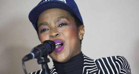 Lauryn Hill sings happy birthday to Ras Baraka
