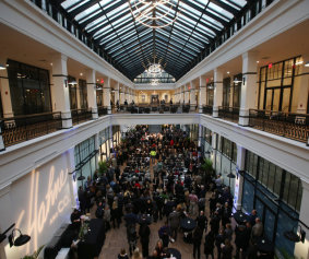 hahnes building opening